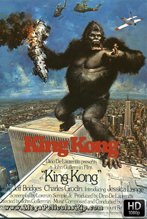 King Kong (1976) [1080p] [Latino-Ingles] [MEGA]