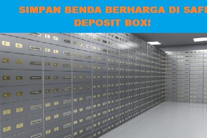 Cara Menyewa Safe Deposit Box Bank Mandiri