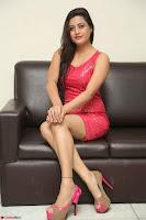 Shipra Gaur in Pink Short Micro Mini Tight Dress ~  Exclusive 075.JPG