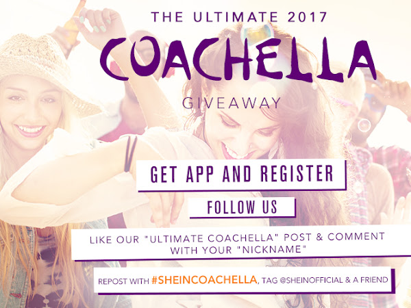 Coachella Giveaway!