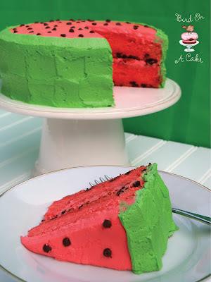 Bird On A Cake Watermelon Flavored Cake