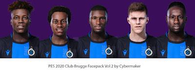 PES 2020 Club Brugge Facepack Vol 2 by Cybermaker