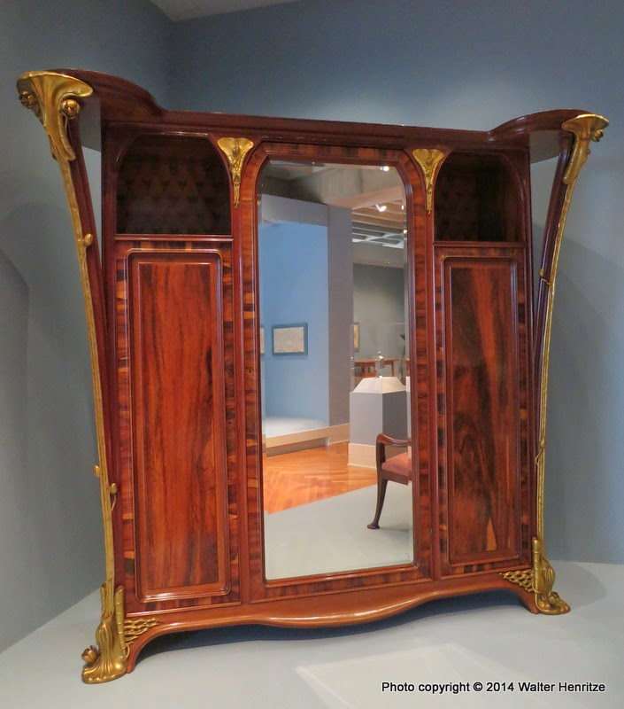 Art Nouveau Bedroom: Two Nerdy History Girls: Art Nouveau Bedroom At The VMFA