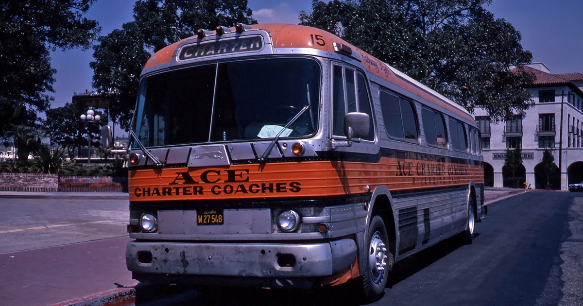 Eddie 39 s rail fan page ace charter coaches 1960 39 s era for Ace motors topeka ks