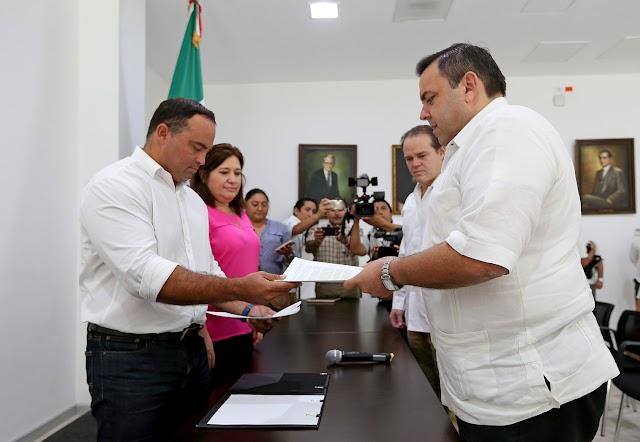 Congreso local recibe iniciativa para eliminar el fuero a servidores públicos