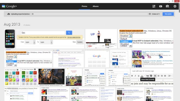 Launch the Google+ Photos App in Chrome