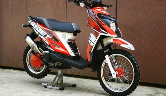 Modifikasi Yamaha X Ride Supermoto Touring Terbaru - Otodrag