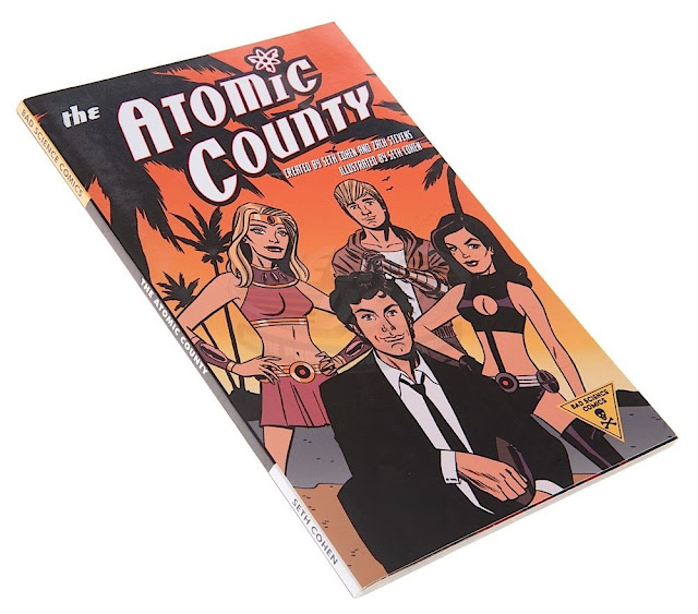 the atomic county oc comic book prop