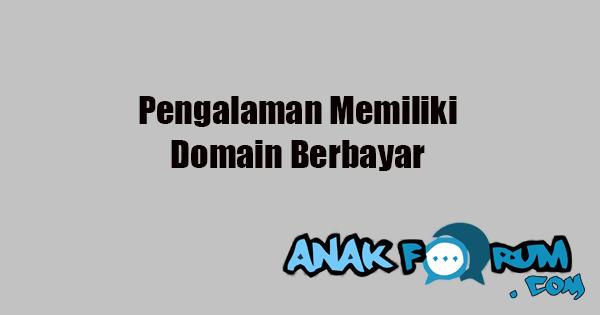 Pengalaman memilki domain