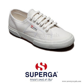 Kate Middleton wore Superga Cotu Sneakers