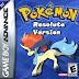 Pokemon Resolute [Beta v2.72] (Hack) GBA ROM Download
