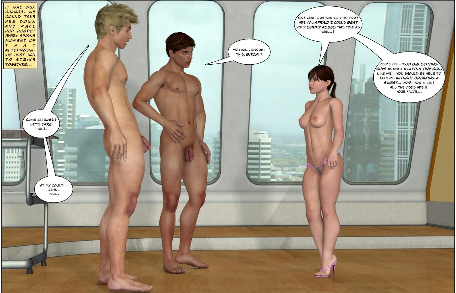 humiliated males
