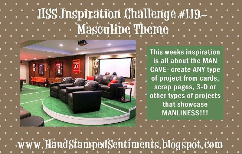 HHS masculine stampin up inspiration photo