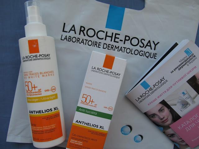 Огляд сонцезахисних засобів із серії Anthelios La Roche-Posay