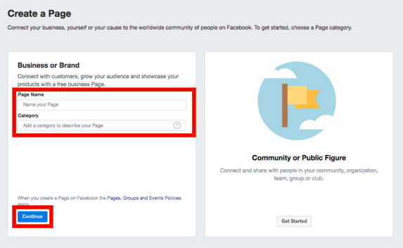 How To Create A Public Page On Facebook<br/>
