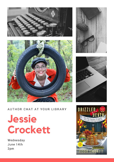 Chat with NH Author Jessie Crockett on June 14, 2017