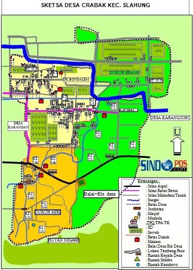 Profil Desa & Kelurahan, Desa Crabak Kecamatan Slahung Kabupaten Ponorogo