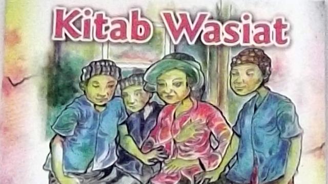 """Cerita Fiksi """"Kitab Wasiat"""""""