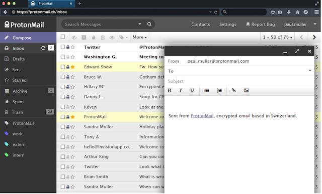 تطبيق ProtonMail خدمة الرسائل المشفرة الأكثر أمانا للأندرويد والآيفون