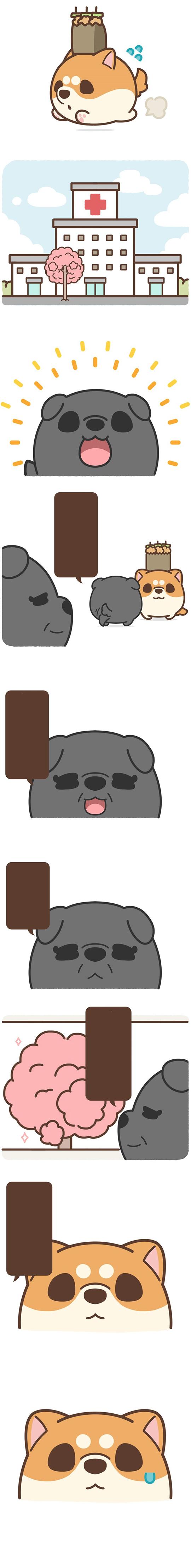 Chú cún Awa #29: Hoa anh đào (2)