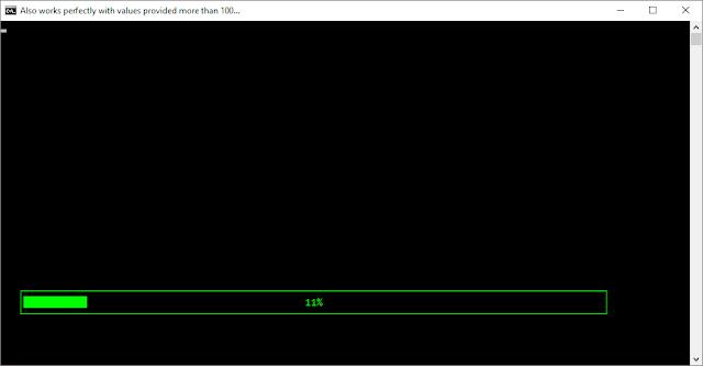GUI Loading-Bar in CMD - Batch Loading Screen effect   Loading Function 1.0 By Kvc