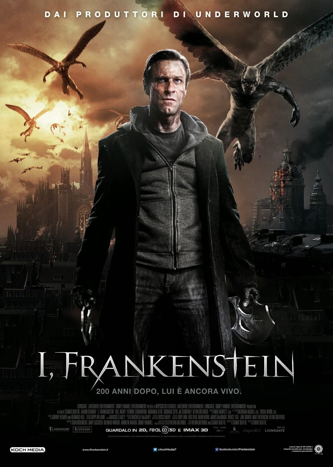 o filme frankenstein entre anjos e demonios dublado