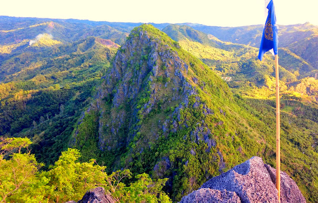 Mt. Binacayan seen from Mt. Pamitinan Summit