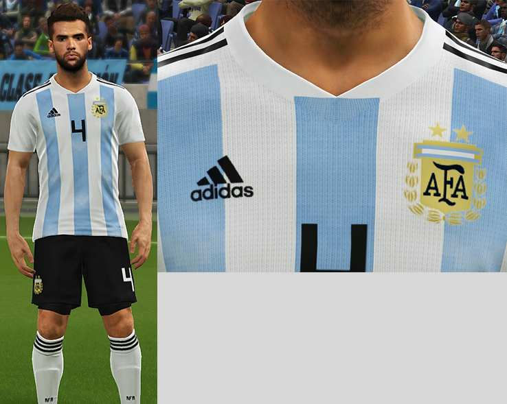 🔥 PES6 World Cup 2018 NT Full Kits Pack • 32 Teams • Download