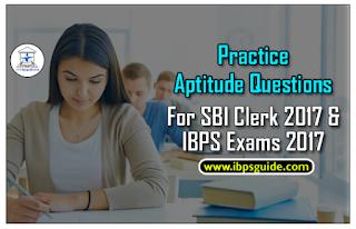Practice Quantitative Aptitude Questions For SBI Clerk 2017& IBPS 2017 Exams (Simple Interest& Compound Interest)