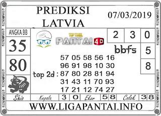 """Prediksi Togel """"LATVIA"""" PANTAI4D 08 MARET 2019"""