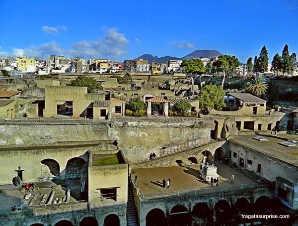 Ruínas de Herculano
