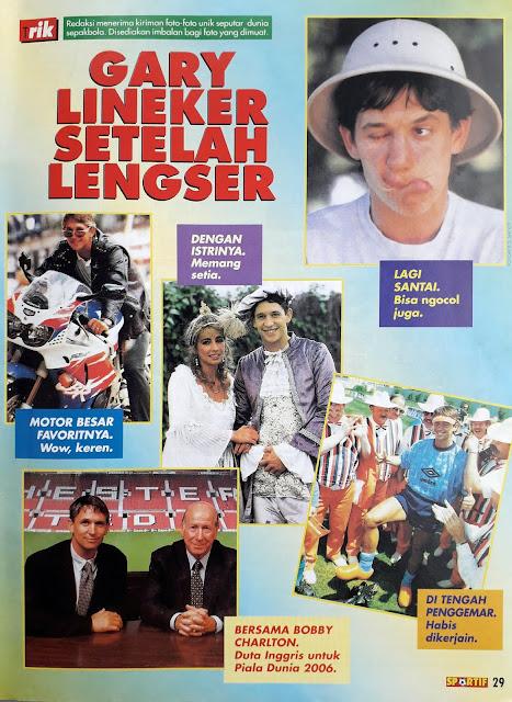 GARY LINEKER SETELAH LENGSER