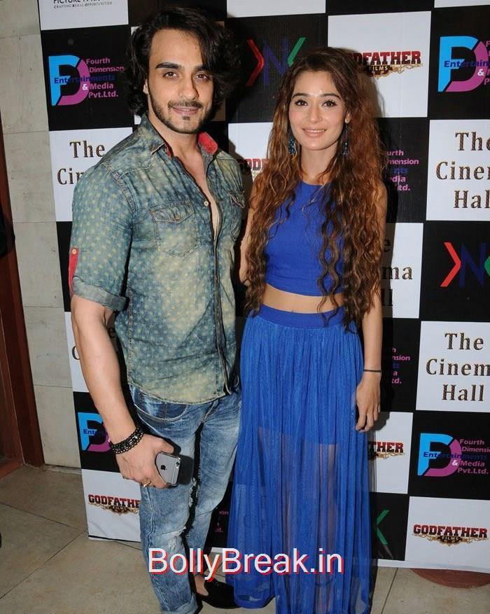 Angad Hasija, Sara Khan, Hot Pics of Sara Khan, Jesse Kaur At 'The Cinema Hall' Movie Launch