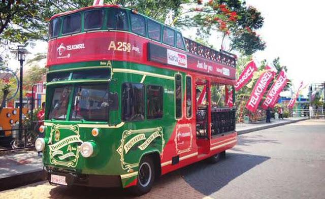 Bus Tingkat Domapan Yogyakarta