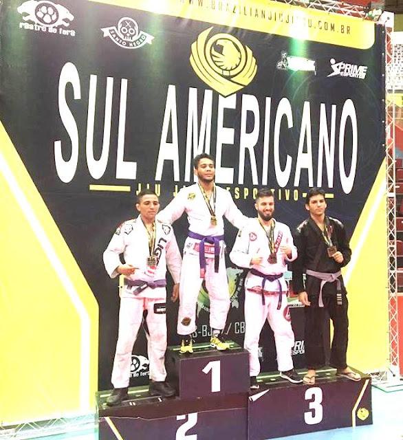 Atletas do jiujitsu da Ilha conquistaram duas medalhas de prata e uma de bronze no Sul-Americano e garantiram vagas para o mundial