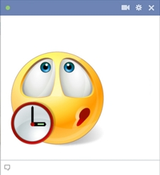 Waiting Smiley For Facebook