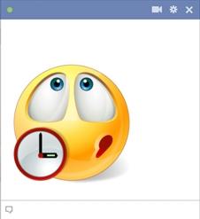 Waiting Smiley | Symbols & Emoticons