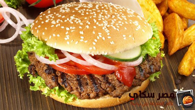 الهامبورجر وخطوات التحضير فى المنزل Hamburger