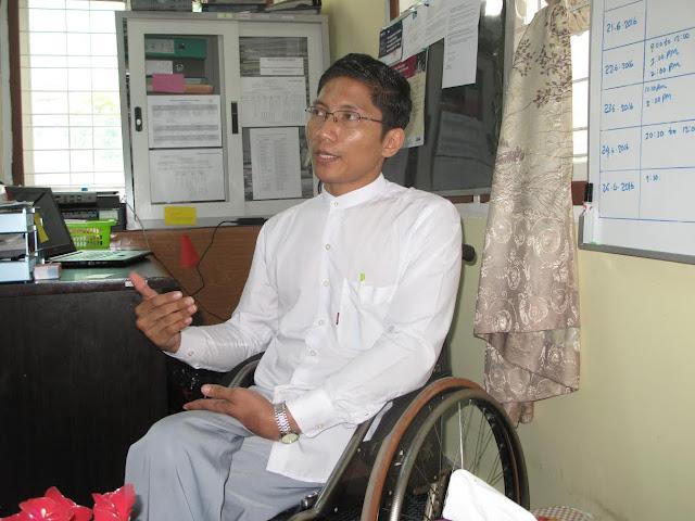 သန္႔သန္႔သူ (Myanmar Now) ● မသန္စြမ္းေတြရဲ႕အားနည္းခ်က္ ကိုသာမက အားသာခ်က္ေတြကိုလည္း ျမင္ေပးပါ (အင္တာဗ်ဴး)