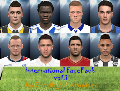 PES 2016 International FacePack vol.1