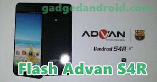 Tutorial Cara Flash Advan S4R Mudah Via Flash Tools