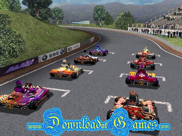 تحميل العاب سيارات Open kart