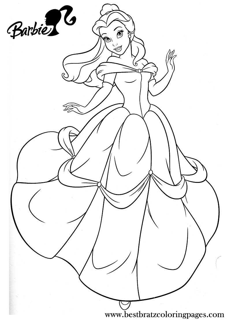 Barbie As The Island Princess Coloring Page - Coloring Home | 1120x800