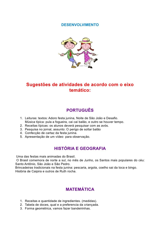 Super Projeto Festa Junina: Raízes da Nossa Terra. - Aprender e Brincar YM42