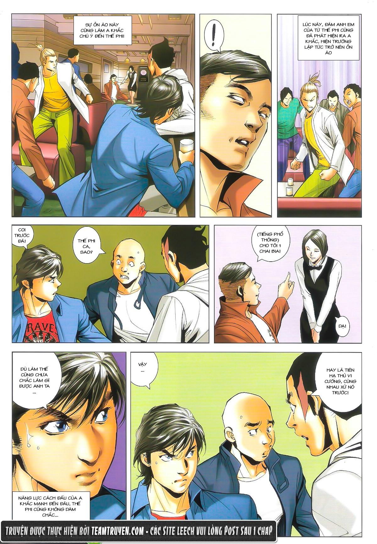 Người Trong Giang Hồ chapter 1610: a khắc giá lâm trang 14