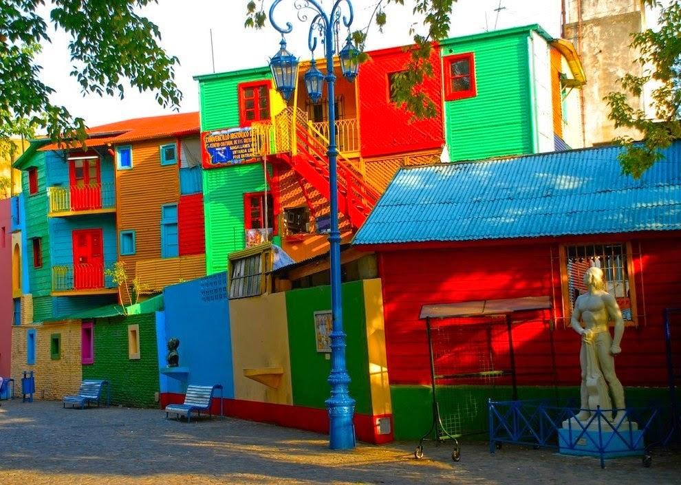 美圖好文: 城市色彩學 人間的彩虹天堂