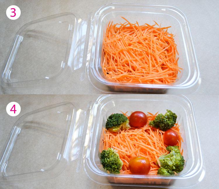 Aprenda a montar uma salada no pote!