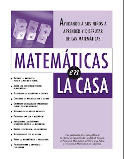 matematicas en casa