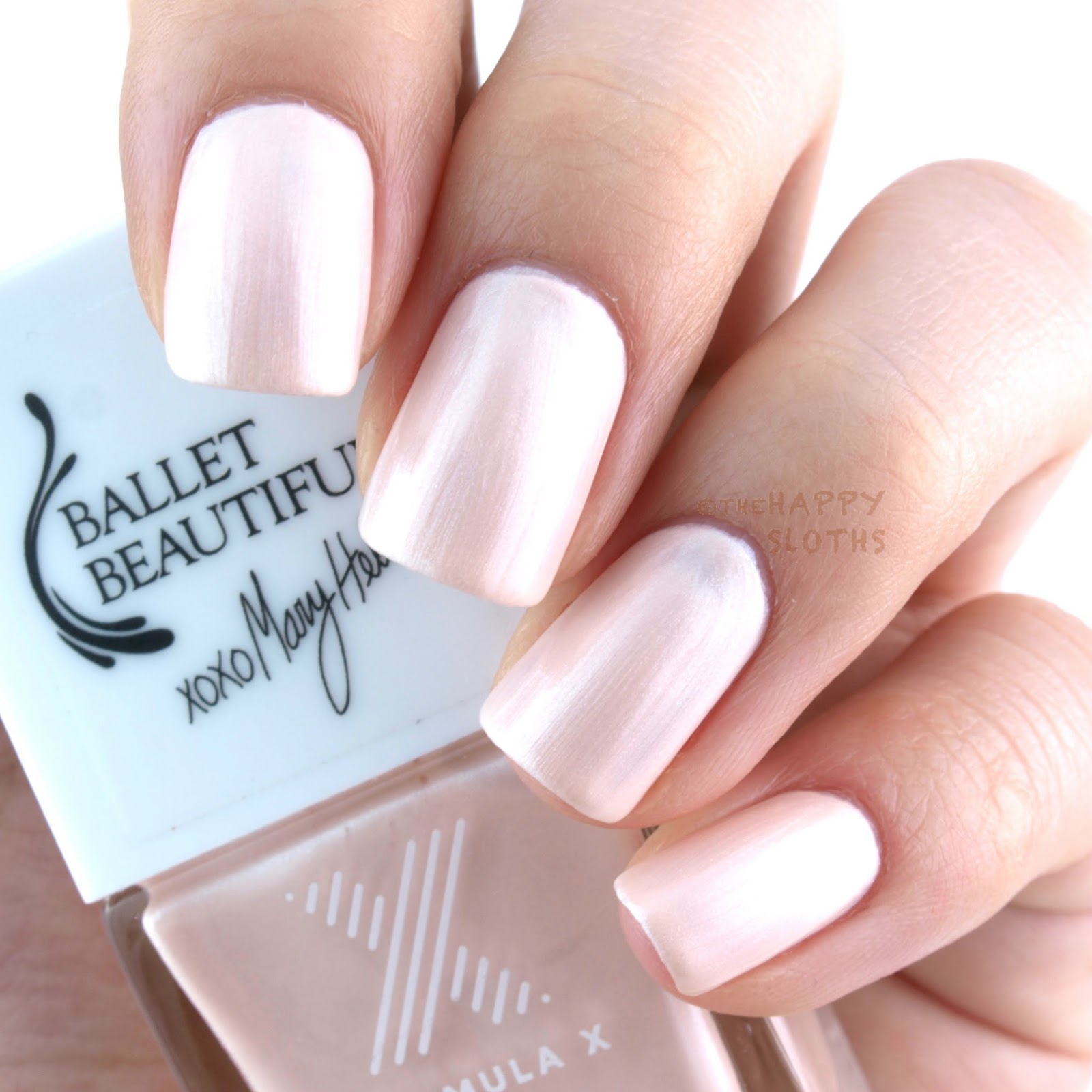 Formula X Colorcurators Ballet Beautiful Collection Review And Swatches The Happy Sloths