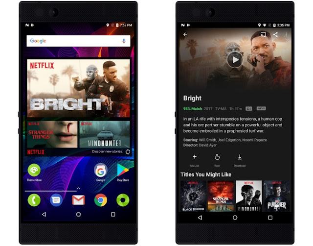 Razer Phone Netflix HDR